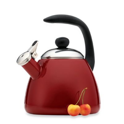 Farberware® Bella 2.5-Quart Tea Kettle in Red