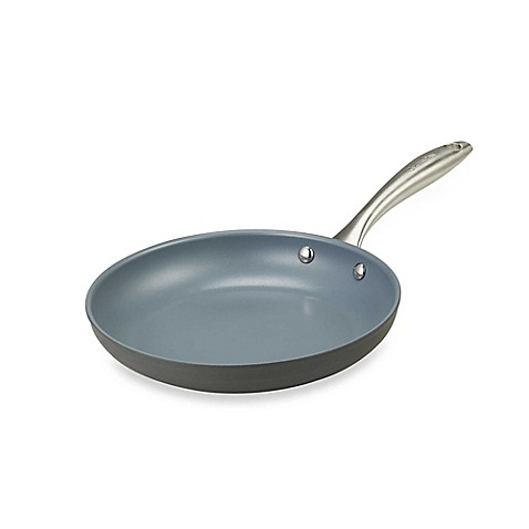 "GreenPan™ Lima Hard Anodized Open 9 1/2"" Fry Pan"