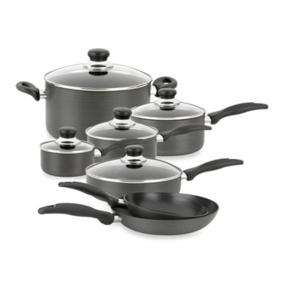 Oneida® Hard Anodized 12-Piece Cookware Set