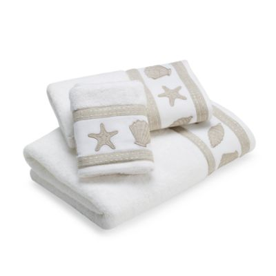 Sand and Sea Bath Towel