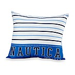Nautica Kids® Drew Large Stripe Toss Pillow