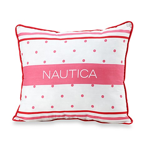 Nautica Kids® Melanie Dot and Stripe Throw Pillow