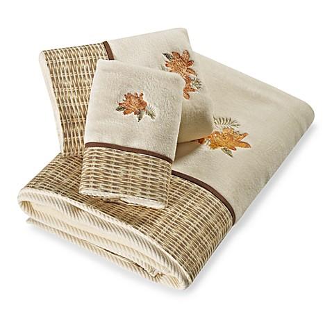 Tommy Bahama Wicker Floral Fingertip Towel Bed Bath Beyond