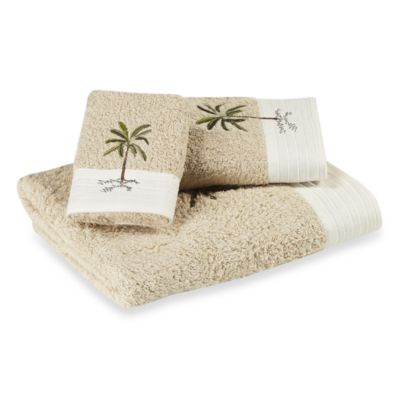 Croscill Fiji Fingertip Towel in Natural