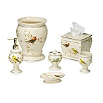 Avanti Gilded Birds Bath Ensemble