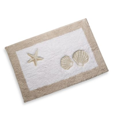 Sand and Sea Bath Rug