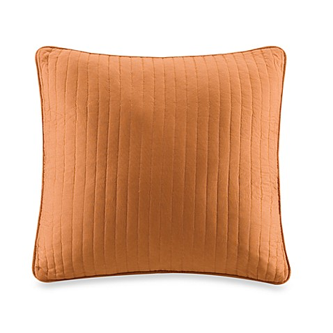 Harbor House Pacifica Quilted 18-Inch Square Throw Pillow