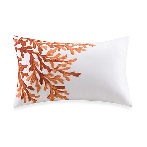 Harbor House Pacifica Coral Oblong Throw Pillow