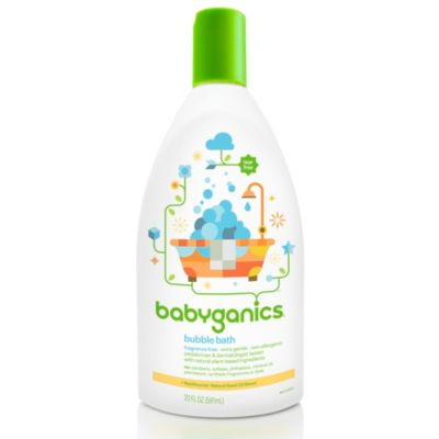 BabyGanics® Tub Time™ Extra Gentle 20-Ounce Bubble Bath and Body Wash