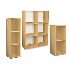 Way Basics Tool-Free Natural Bookcase and Storage