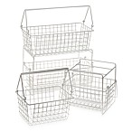 Two-Basket Slide Out Organizer