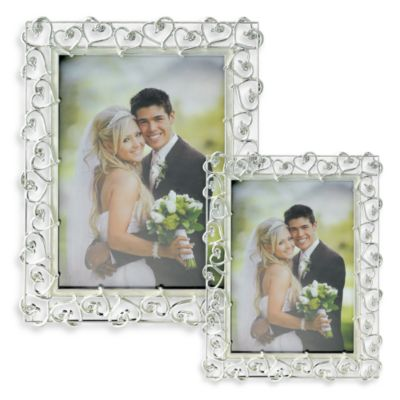 Lawrence Frames Open Heart 5-Inch x 7-Inch Wedding Frame