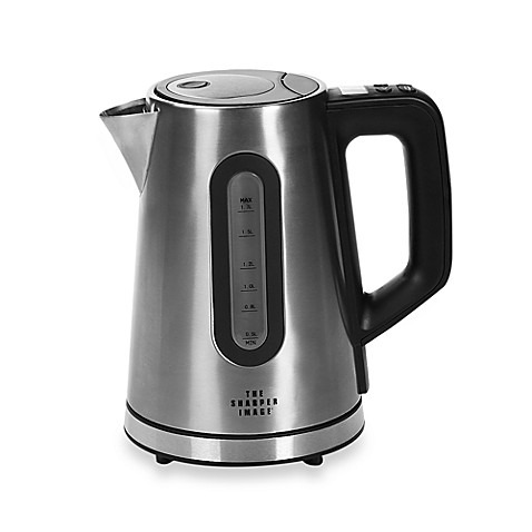 Sharper Image®  Select-A-Temp Stainless Kettle