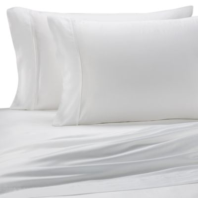 Pure Beech® Sateen Standard Pillowcase in White (Set of 2)