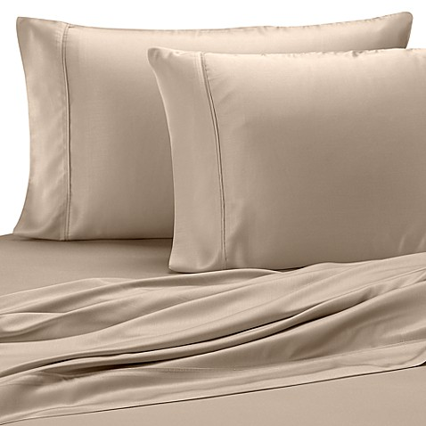 buy pure beech sateen pillowcases set of 2 from bed