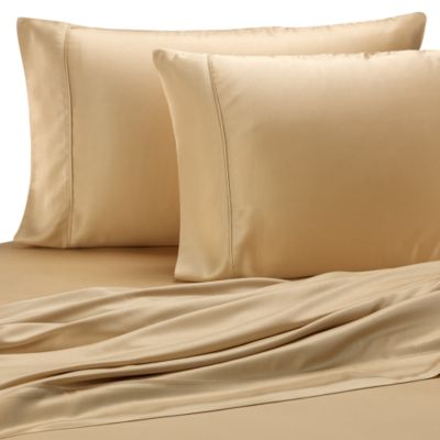 Pure Beech® Sateen Standard Pillowcase in Honey (Set of 2)