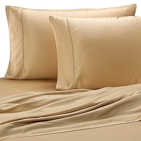 Pure Beech® Sateen King Pillowcase in Honey (Set of 2)