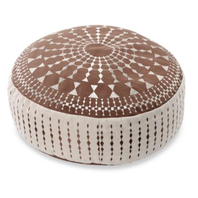 Kas Delphine Floor Cushion - Mocha