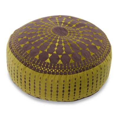 Kas Delphine Floor Cushion - Lime