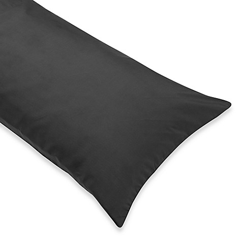 Body Pillow Cover in Gray