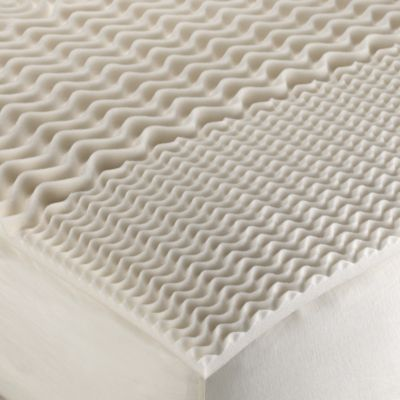 Isotonic® Zoned Comfort™ 1 1/4-Inch Memory Foam Mattress Topper