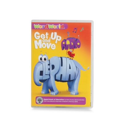 Word World: Get Up & Move Elephant DVD