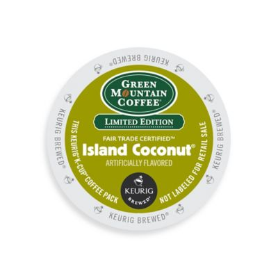 K-Cup® 18-Count Green Mountain Coffee® Island Coconut® for Keurig® Brewers