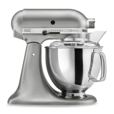 KitchenAid® 5-Quart Artisan™ Stand Mixer in Contour Silver