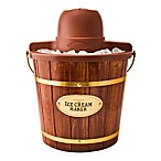 Nostalgia Electrics™ Old Fashioned Wood Ice Cream Maker