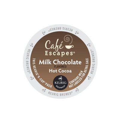 K-Cup® 16-Count Gourmet Single Cup Cafe Escapes® Milk Chocolate Hot Cocoa for Keurig®