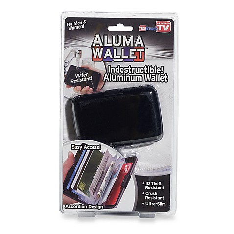 Aluma Wallet™ in Black
