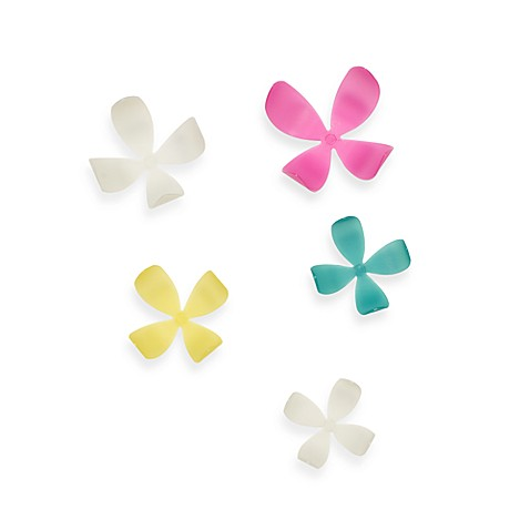 Umbra® Glow-in-the-Dark Wall Flowers in Assorted Colors