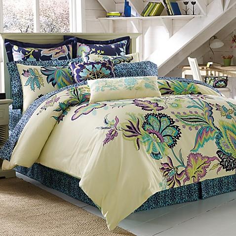 Amy Butler Morning Blossom 100 Organic Cotton Duvet Cover