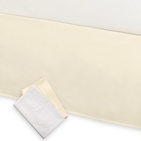 Swift Fit™ Stretch-Over Tailored Bed Skirt and Standard Sham