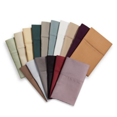 Eucalyptus Origins™ Tencel® Lyocell 600-Thread-Count Full XL Sheet Set in Plum