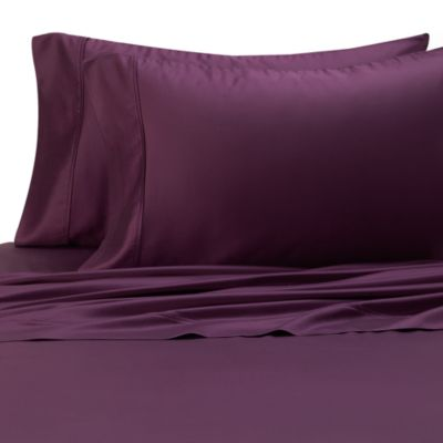 Eucalyptus Origins™ Tencel® Lyocell 600-Thread-Count King Pillowcases in Plum (Set of 2)