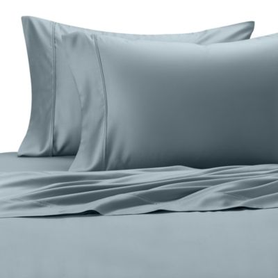 Eucalyptus Origins™ Standard Pillowcase in Sky (Set of 2)