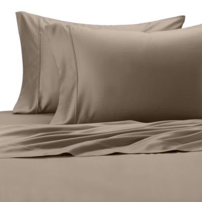 Eucalyptus Origins™ Standard Pillowcase in Silver (Set of 2)