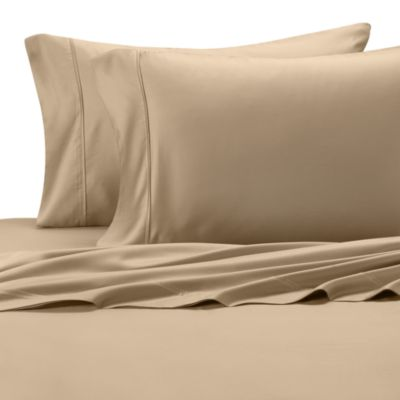 Eucalyptus Origins™ Standard Pillowcase in Taupe (Set of 2)
