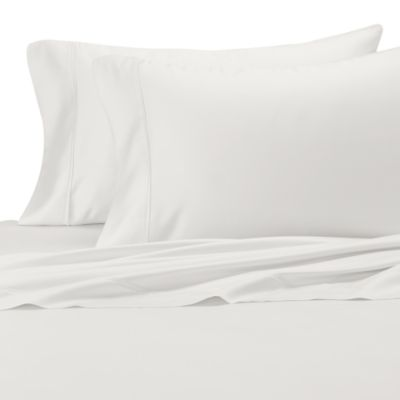 Eucalyptus Origins™ Standard Pillowcase in White (Set of 2)