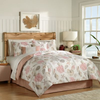 Seashore Complete Twin Bed Ensemble