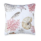 Seashore 18-Inch Square Toss Pillow