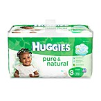 70-Count Huggies® Pure and Natural Size 3 Diapers