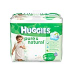 52-Count Huggies® Size 5 Pure and Natural Diapers