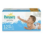 Pampers® 72-Count Size 1/2 Limited Edition Print Diapers for Boys