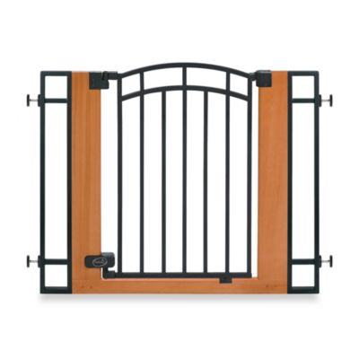 Summer® Stylish & Secure™ Wood & Metal Walk-Thru Gate