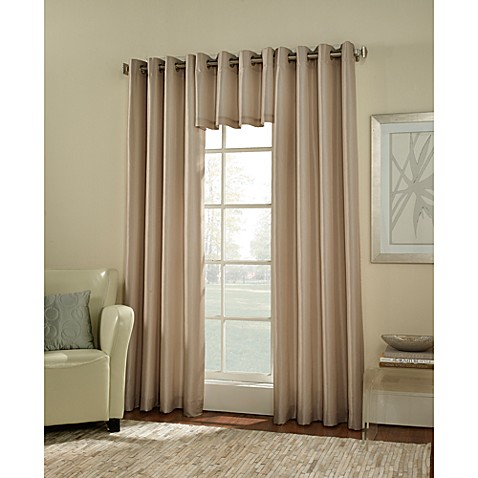 Argentina Room Darkening Grommet Window Valance
