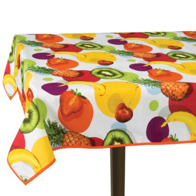 Fruit Salad 70-Inch Round Tablecloth