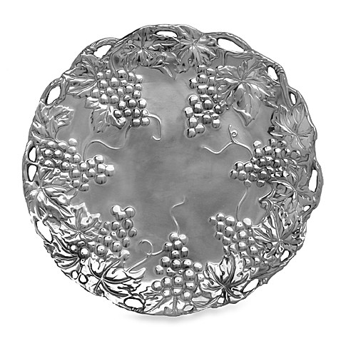 Arthur Court Designs Grape 12-Inch Round Tray