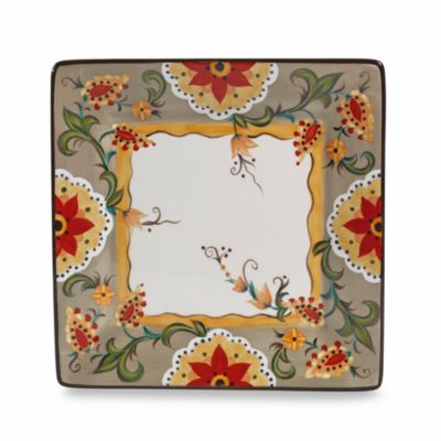 Tabletops Unlimited® Misto Odessa Square Dinner Plate